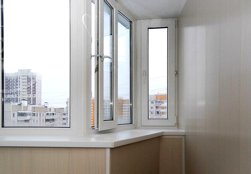 Остекление балконов и лоджий пластиковыми окнами в москве по.